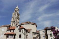 Old town Split, Croatia. Old stone houses in Split, Croatia Royalty Free Stock Photography
