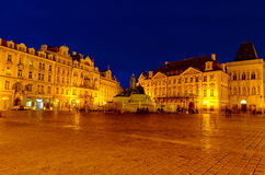 Old Town Sqaure in Prague Royalty Free Stock Photos