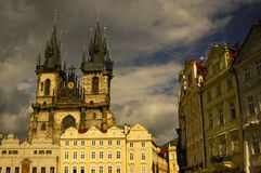 Old Town square. In Prague, Czech Republic Royalty Free Stock Photography