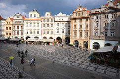 Old town square. In Prague, Czech republic Stock Images