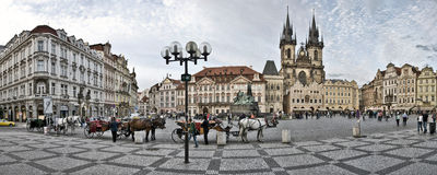 Old Town square Royalty Free Stock Photo