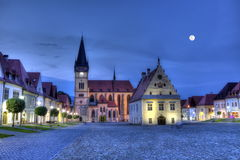 Old town square in Bardejov, Slovakia,HDR Stock Photos