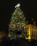 Old Town Square at Christmas time, Prague, Czech Republic Royalty Free Stock Images