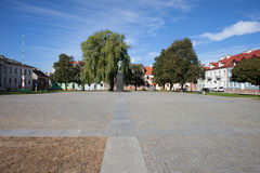 Old Town Square in City of Radom Royalty Free Stock Photos