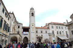 Old town square,Dubrovnik Royalty Free Stock Photo