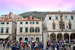 Old town square,Dubrovnik Royalty Free Stock Photography