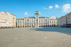 Old town square in european city Stock Photography