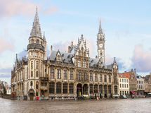 Old town square, Ghent Stock Image