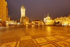 Old town square Stock Image