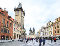 Old Town Square. Royalty Free Stock Images