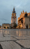 Old Town Square Krakow Royalty Free Stock Photography