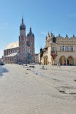 Old Town square in Krakow, Poland Stock Image