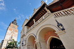 Old Town square in Krakow, Poland Royalty Free Stock Photography