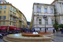 Old Town square,Nice France Stock Image