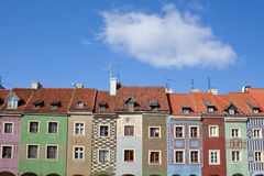 Old Town Square in Poznan, Poland Royalty Free Stock Photo