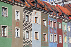 Old Town Square in Poznan, Poland. The Old Town Square in Poznan, Poland Stock Photo
