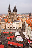 Old town square of Praga Stock Photography