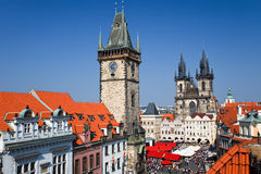 Old Town Square, Prague. Old Town Square in Prague, Czech Republic Stock Image
