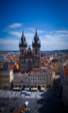 Old Town Square, Prague stock photography