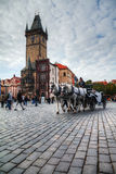 Old Town Square in Prague Royalty Free Stock Photography