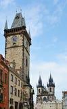 Old-town square, Prague Stock Photo