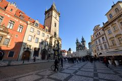 Old Town Square, Prague Royalty Free Stock Photography