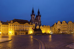 Old Town Square, Prague Stock Photo