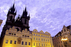 Old Town Square- Prague, Czech Republic Stock Photography