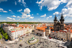 Old Town Square in Prague Royalty Free Stock Image