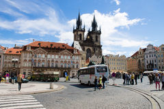 Old Town Square Stock Photography