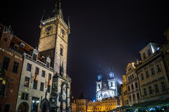 Old town square prague Stock Image