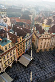 Old Town Square in Prague Royalty Free Stock Photo