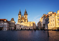 Old town square,Prague Royalty Free Stock Photo