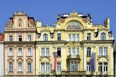 Old Town Square of Prague - Czech Republic Stock Photos