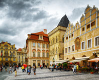 The Old Town Square in Prague Royalty Free Stock Images