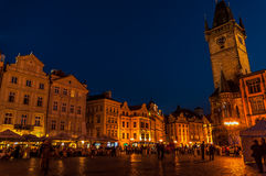 Old Town Square  in Prague, Czech Republic Royalty Free Stock Image