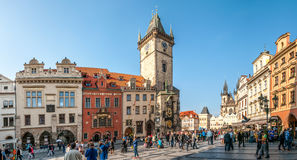 Old Town Square in Prague Stock Image