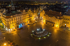 Old Town Square in Prague. Czech Republic Royalty Free Stock Photography