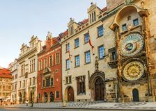 Old Town Square in Prague, Czech Republic Stock Photo