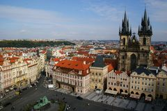 Old Town Square, Prague, Czech Republic royalty free stock image
