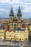 Old town square in Prague, Czech Republic Royalty Free Stock Photography