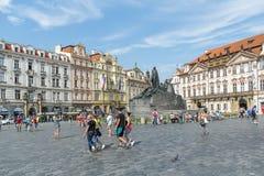 Old Town Square, Prague, Czech Republic Stock Photos
