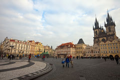 Old Town Square. Prague, Czechia Royalty Free Stock Photo