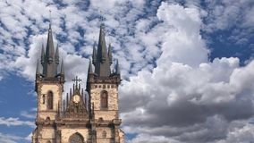Old Town Square Prague stock video footage