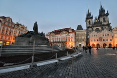 Old Town Square, Prague Stock Images