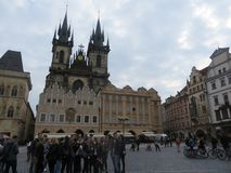Old Town Square Prague Royalty Free Stock Photo