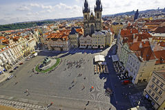 Old Town Square of Prague Royalty Free Stock Photos