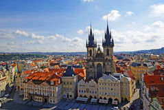 Old Town Square of Prague Royalty Free Stock Image