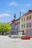 Old Town Square Stock Images