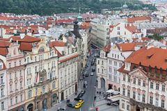 Old Town Square (Star? m?sto), Prague,,, Royalty Free Stock Photos